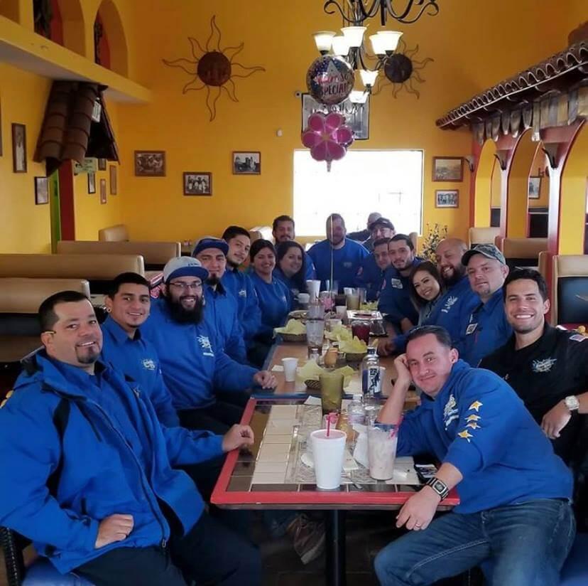 Cisneros-Brothers-Plumbing-Team-Dinner