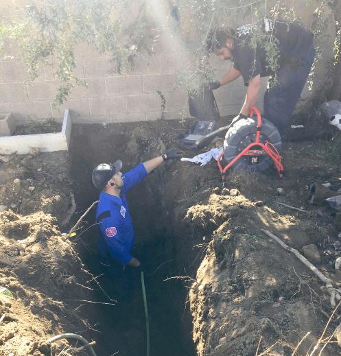 Plumbing-Trench